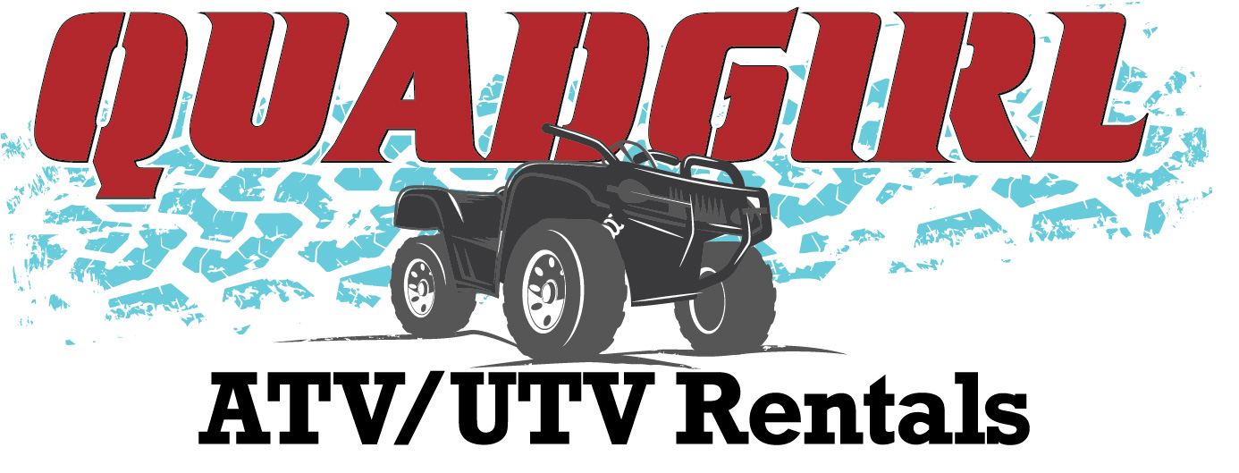 The Real QuadGirl ATV / UTV Rentals Logo